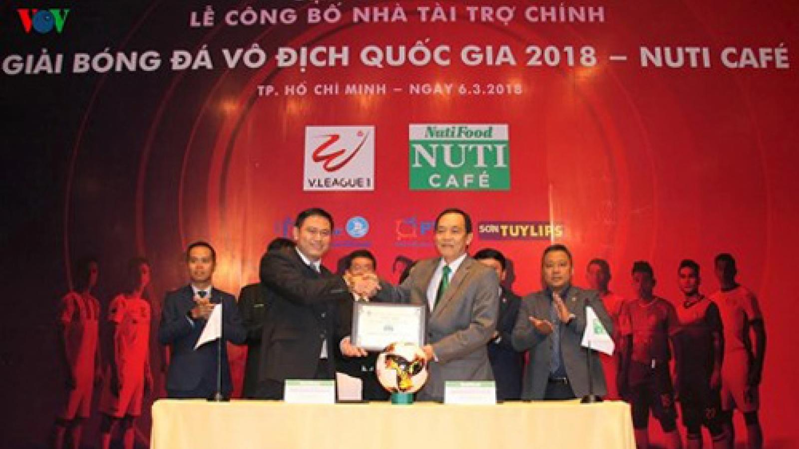 Nutifood signs on as main sponsor of V-League 2018