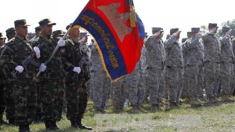 Cambodia, US hold joint military exercise