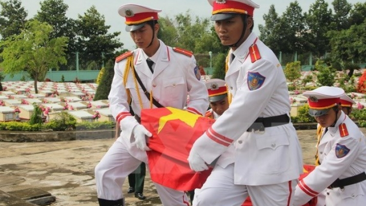 Cambodia repatriates remains of Vietnamese voluntary soldiers
