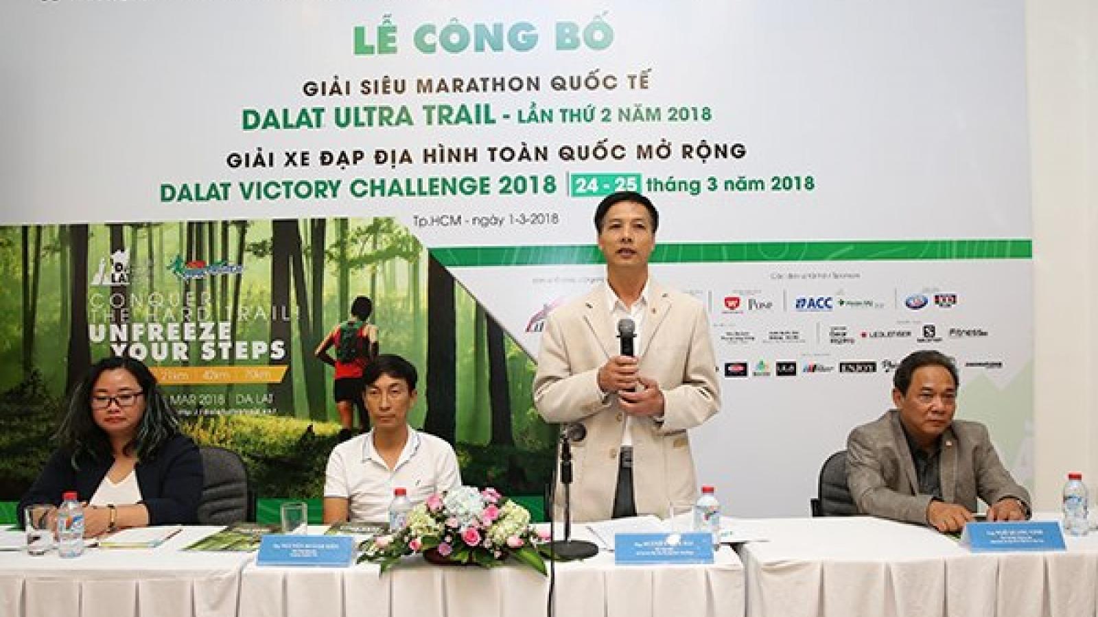 "Over 2,000 to join ""Dalat Ultra Trail"" international marathon contest"