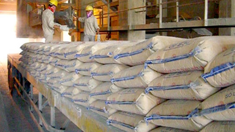 Cement sales drop overseas, increase at home