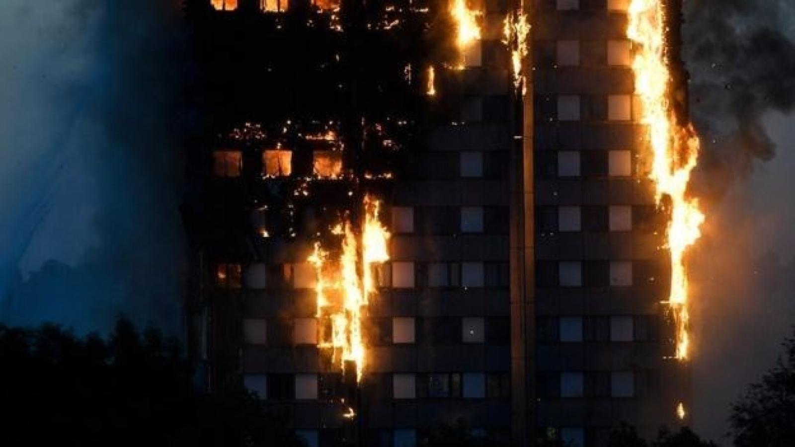 No Vietnamese victim in fire in London
