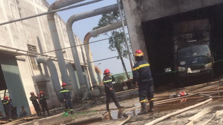 Workshop fire leaves one dead and three injured in Binh Duong