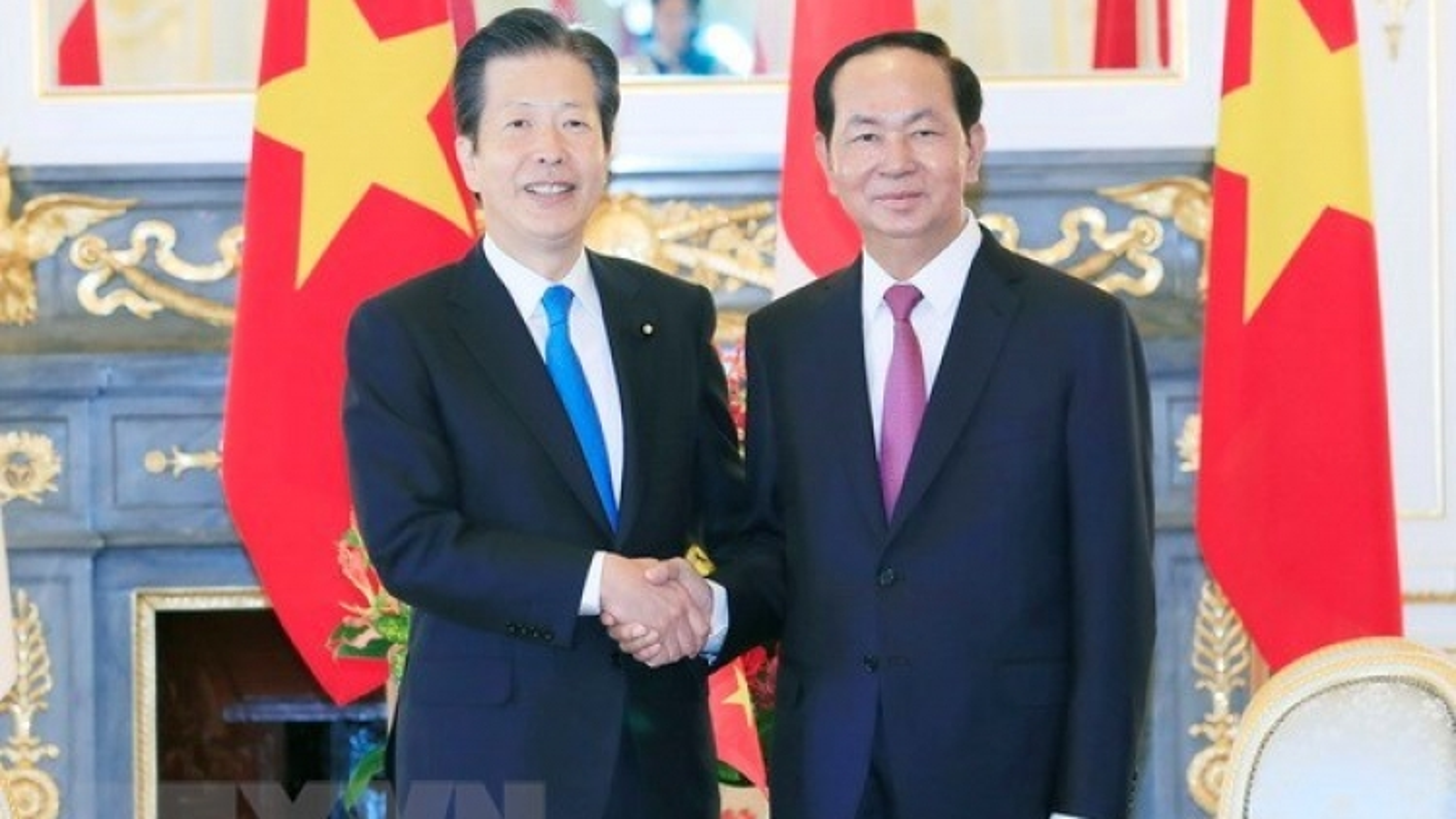 President receives Japan's Komeito Chief Representative