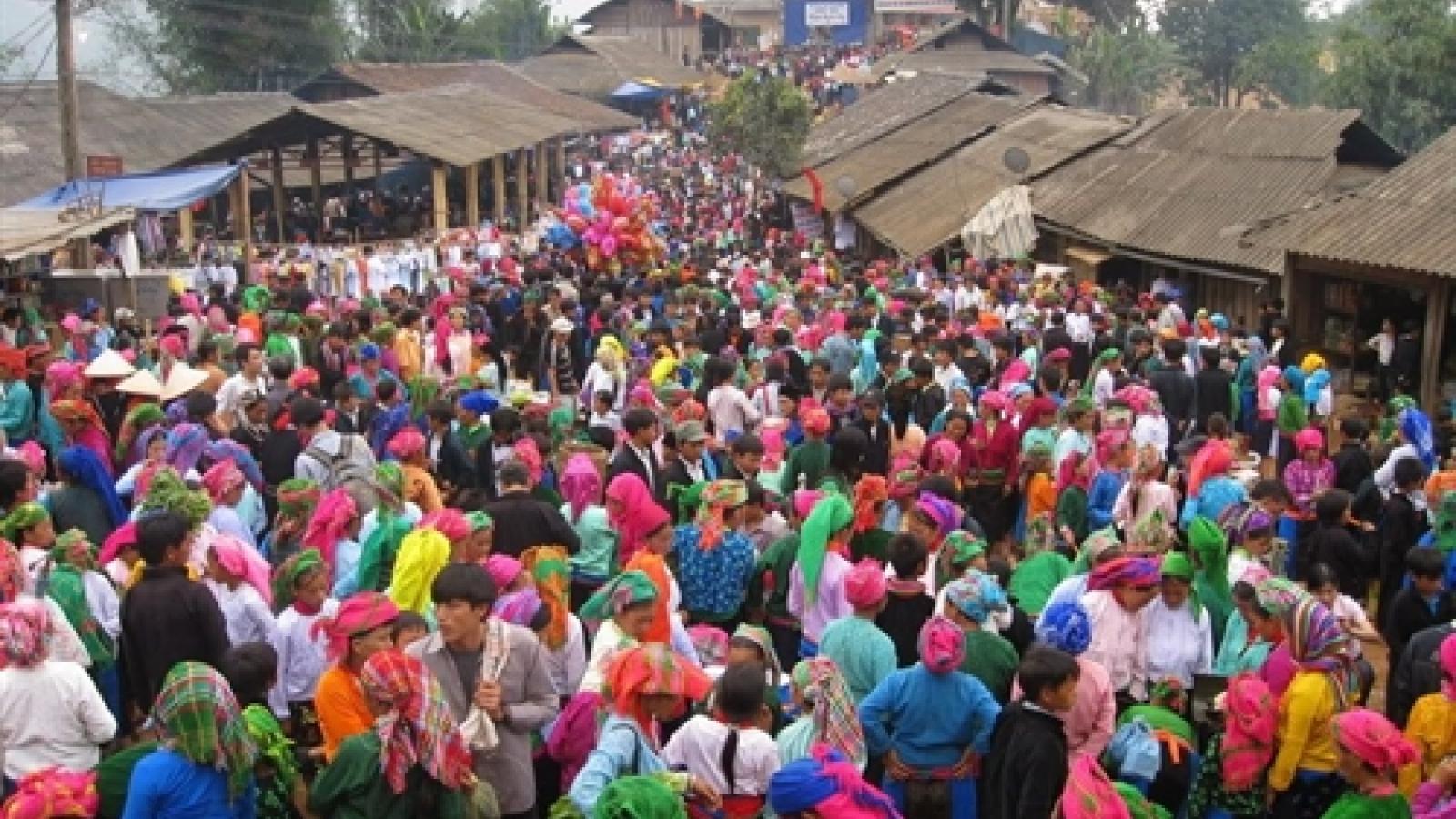 Khau Vai love market culture- tourism week celebrates Ha Giang culture