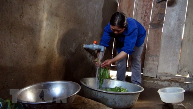 About 52% of rural residents in Hanoi enjoy clean water