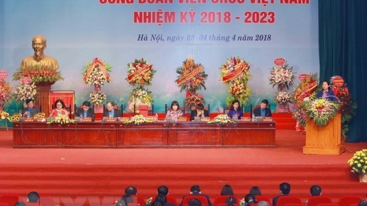 12th Vietnam trade union congress elects executive board