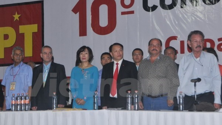 CPV delegation attends Mexican Labour Party's congress