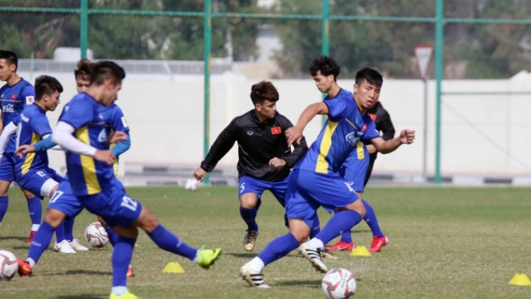 Vietnamese team holds first training session of the New Year