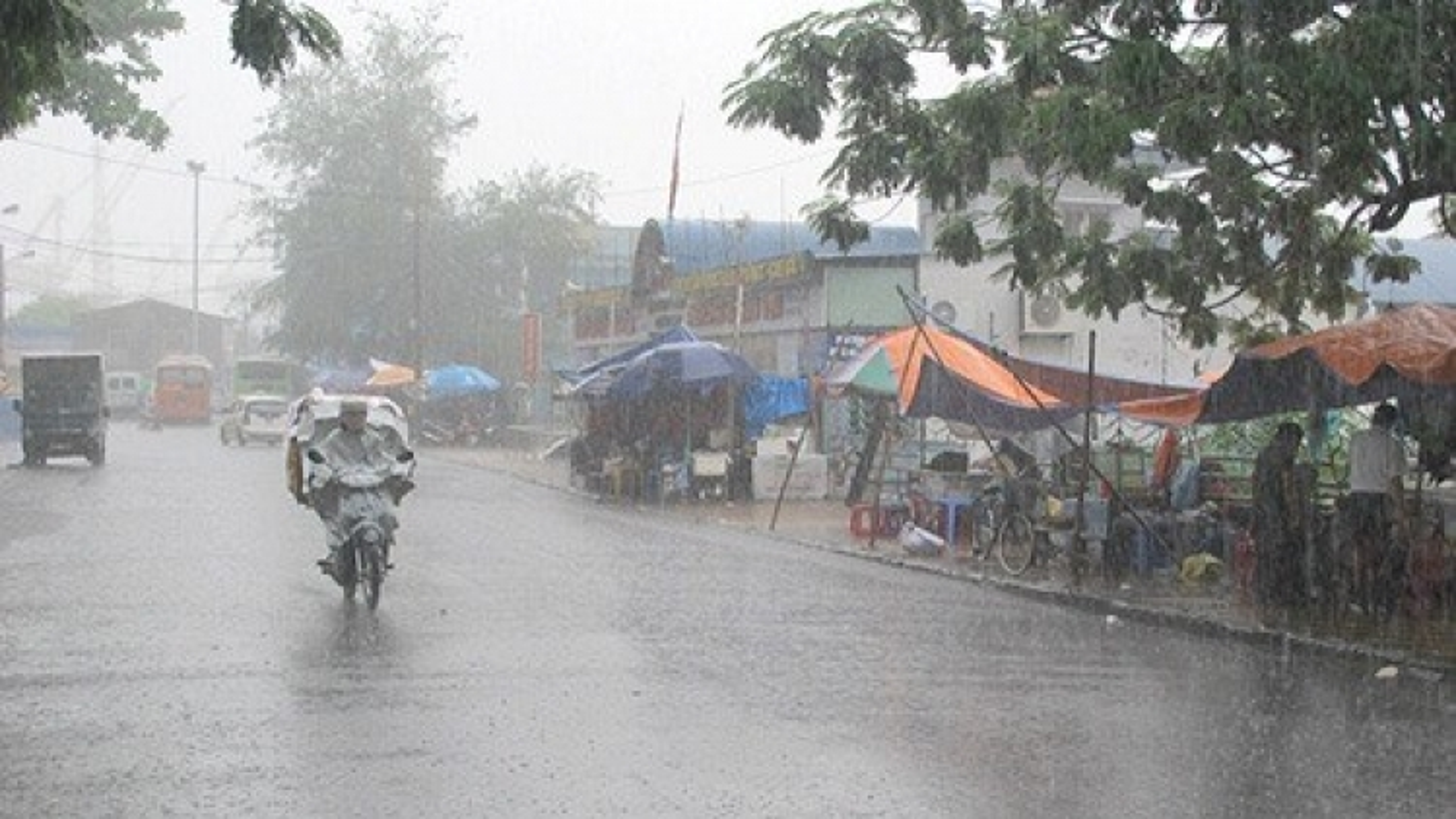 Three-day rain in northern region, flooding feared