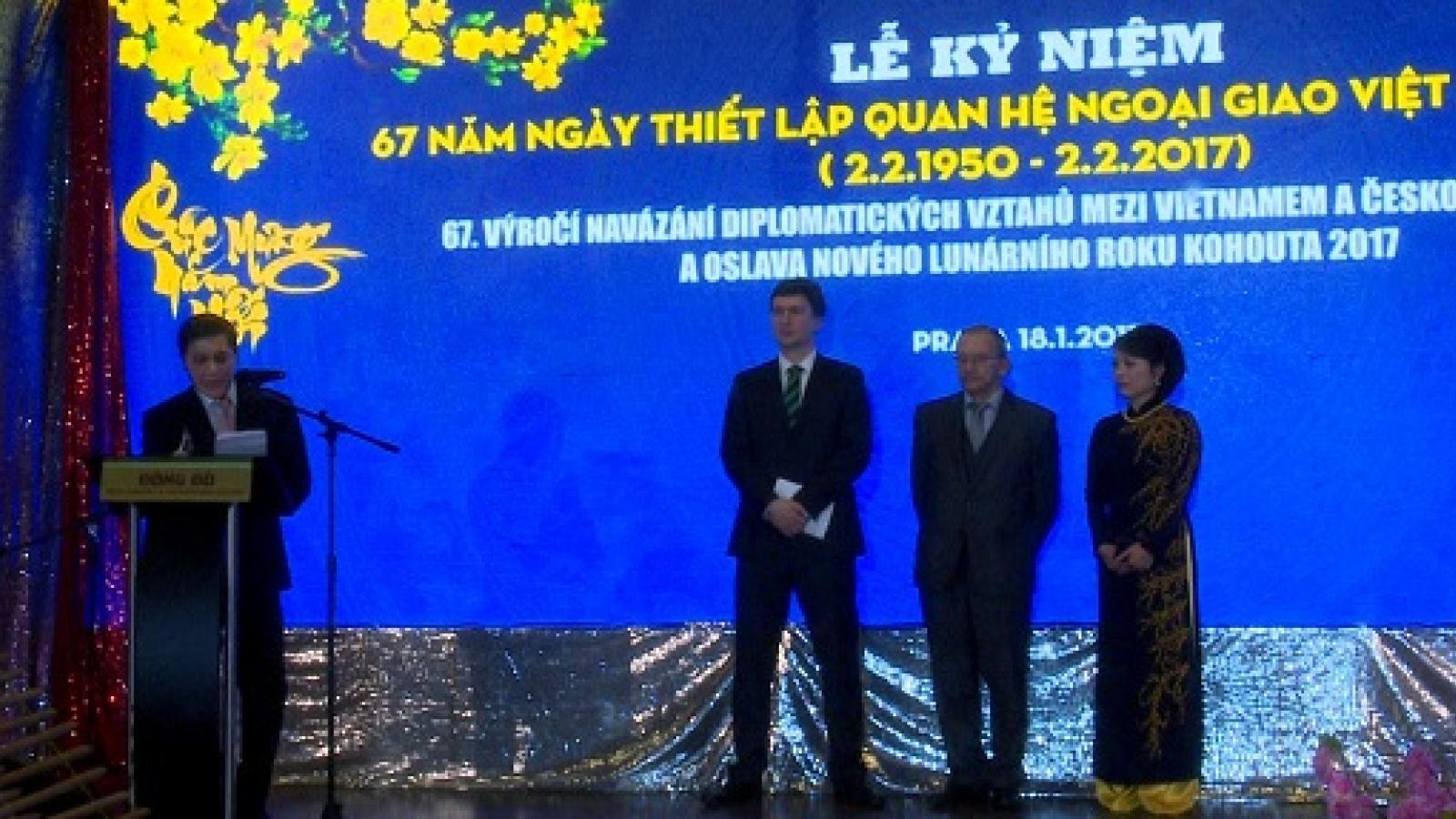 Ceremony marks Vietnam-Czech diplomatic ties