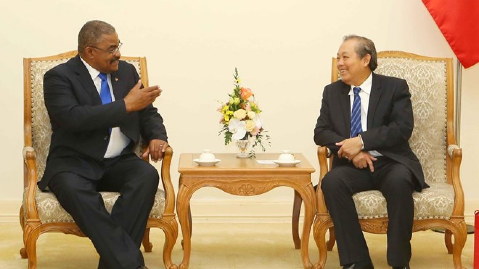 Deputy PM receives President of Cuban Supreme Court