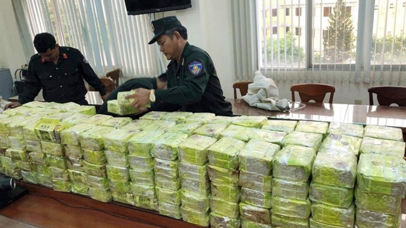 Major drug trafficking ring busted, 300kg of drugs seized