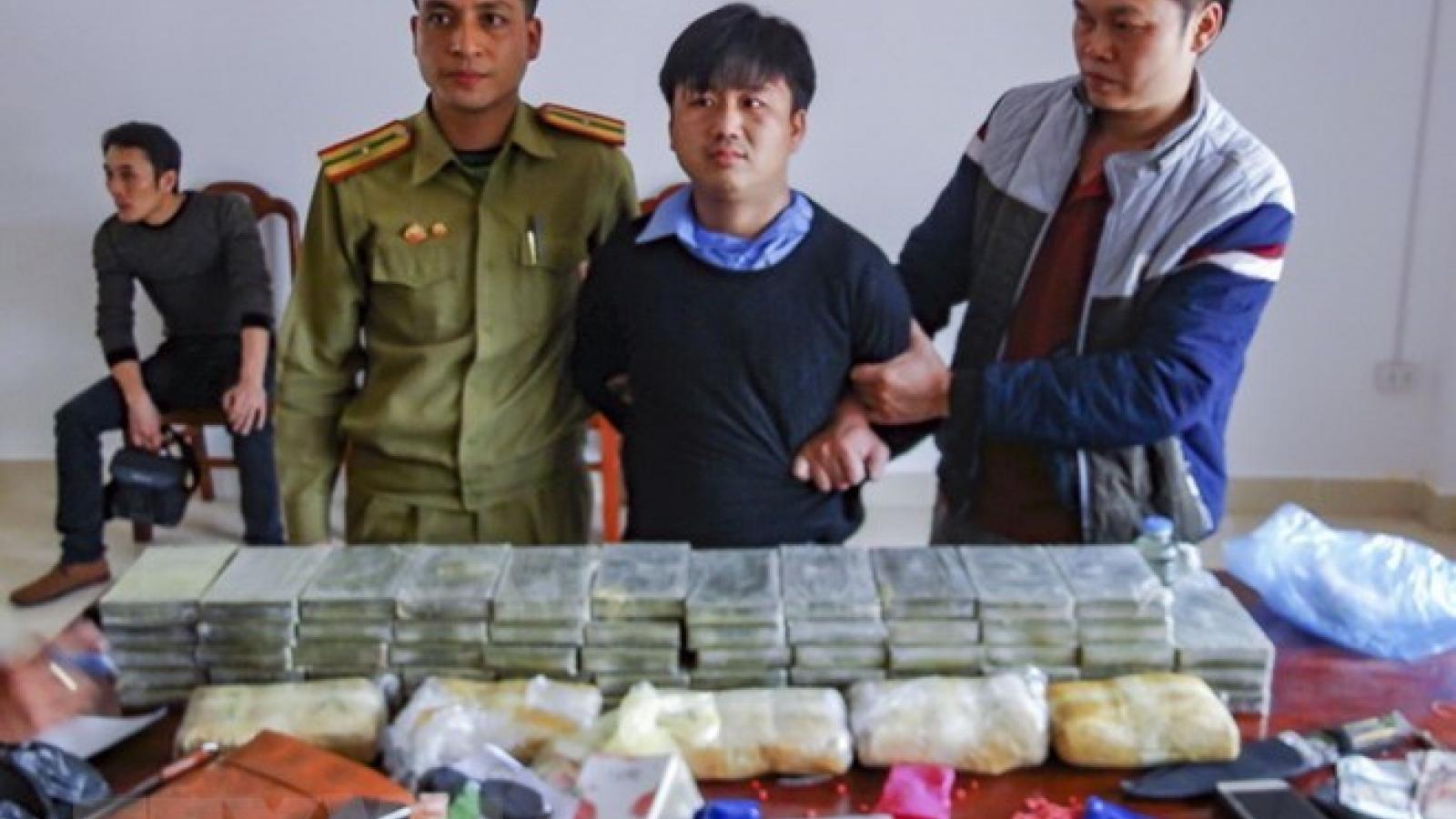 Dien Bien police uncover cross-border drugs trafficking ring