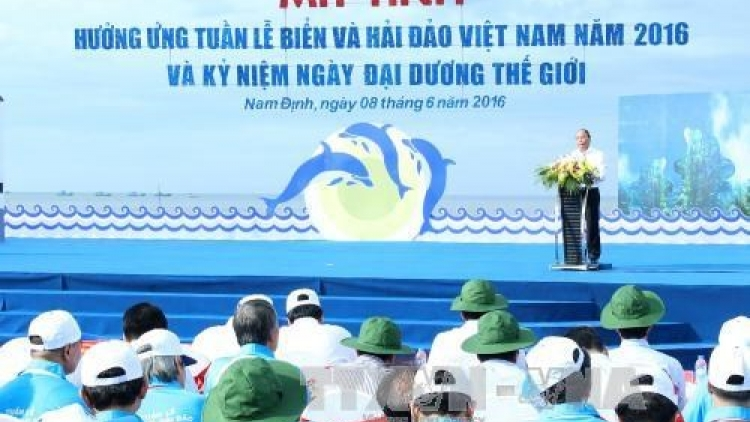 Sea environment protection important: PM