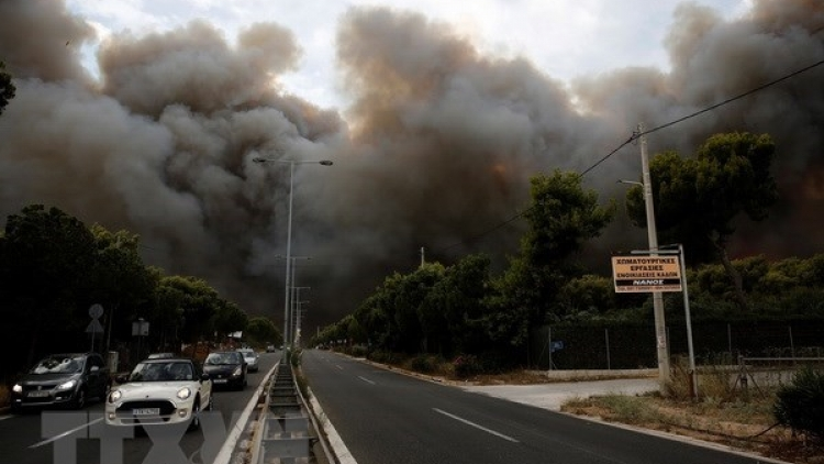 Vietnamese leaders send condolences to Greece over forest fire