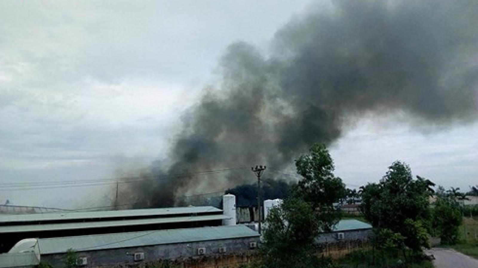Fire destroys 3 workshops in Hai Phong