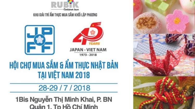 Japanese food and goods fair to open in HCM City