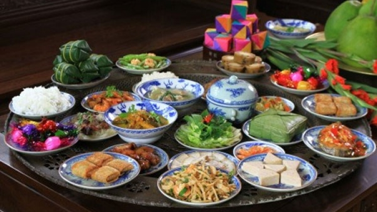 Tet food reflects different lifestyles