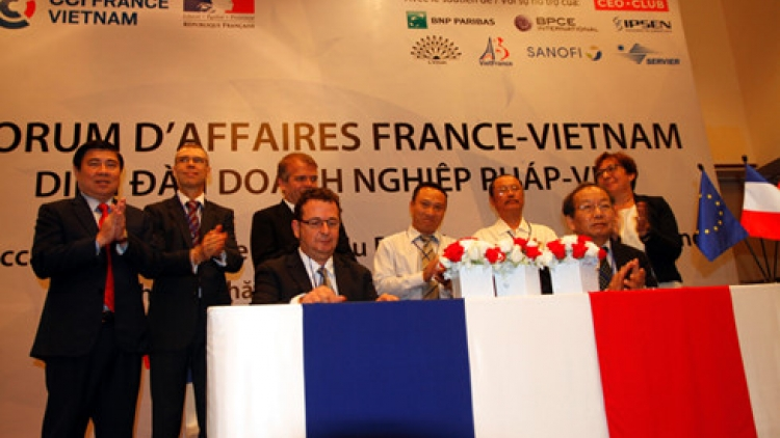 France-Vietnam Business Forum in HCM City