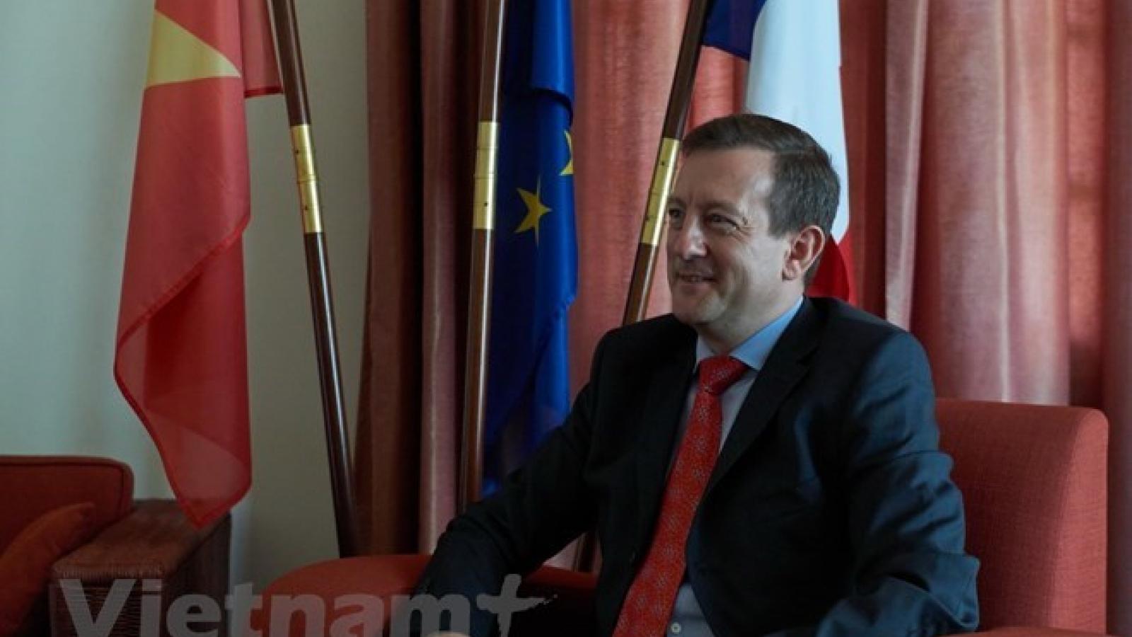 French ambassador highlights growing Vietnam-France ties