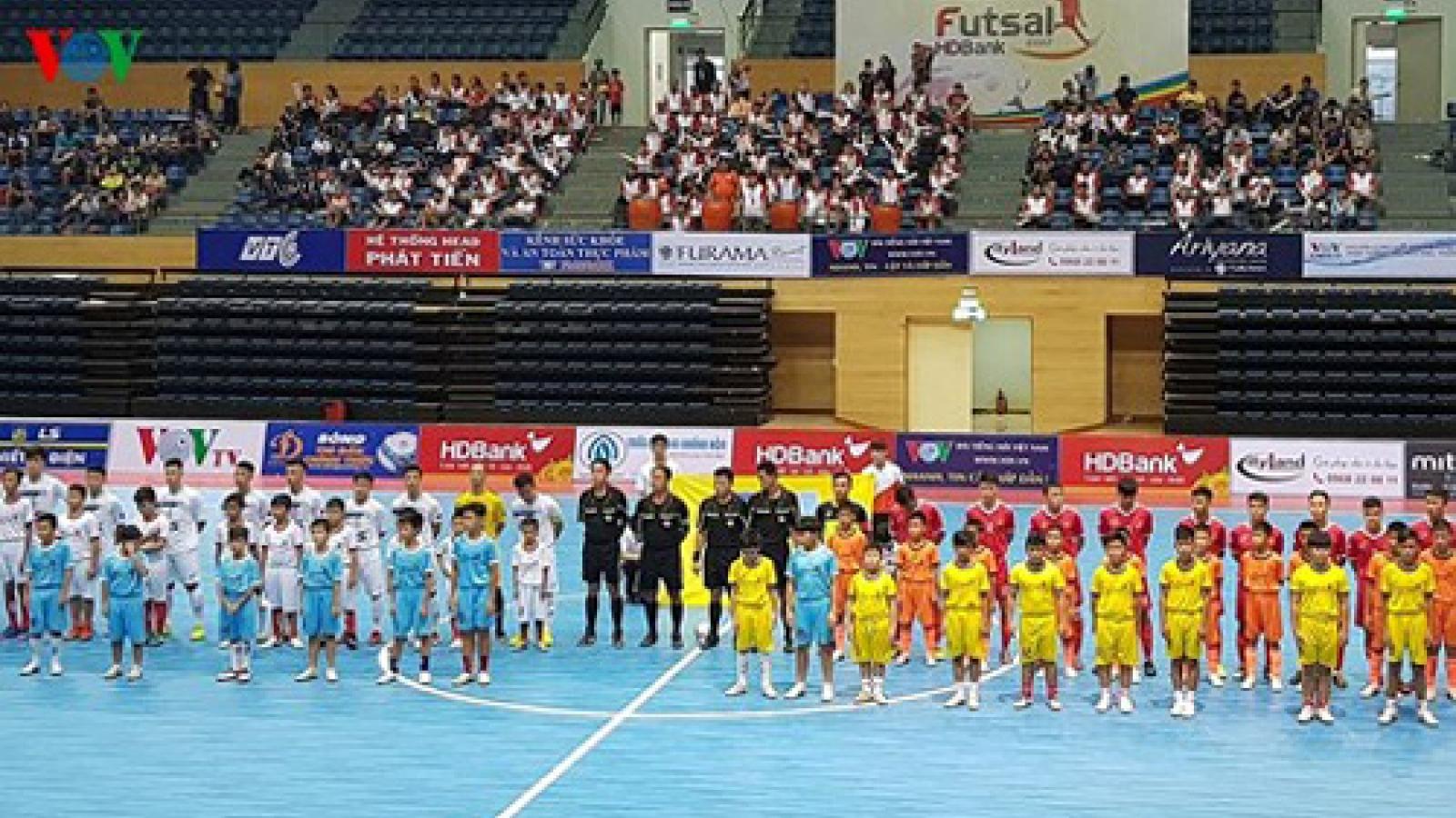 National Futsal HDBank Cup 2017 opens in Danang