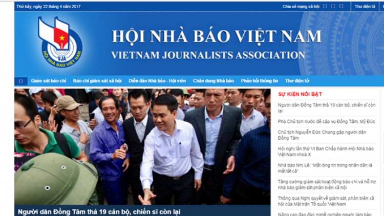Vietnam Journalists Association's portal makes debut