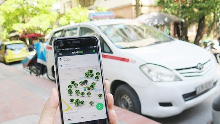 Uber and Grab requested to use logos on vehicles