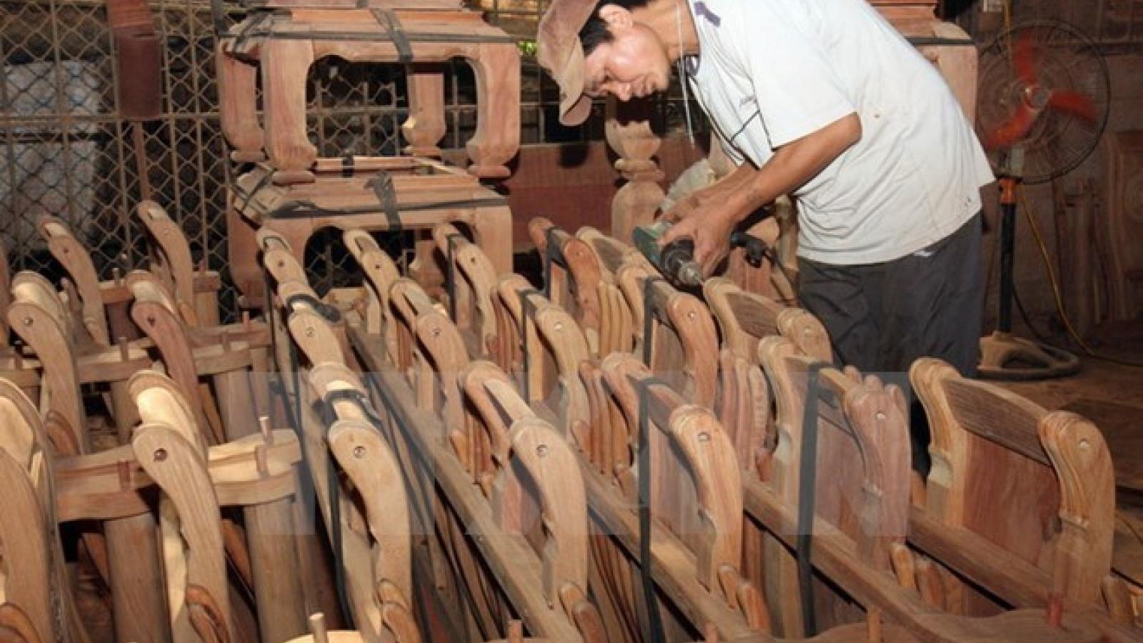 Handicraft export value hits US$1.6 billion yearly