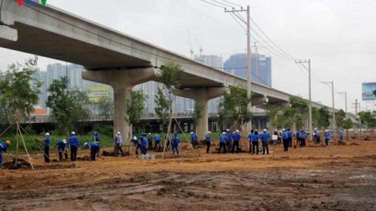 HCM City plants trees in response to World Environment Day