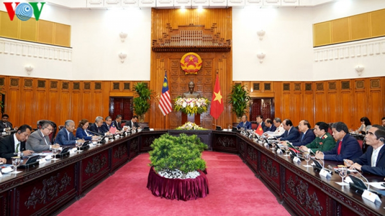 Vietnam, Malaysia express shared concern over East Sea situation