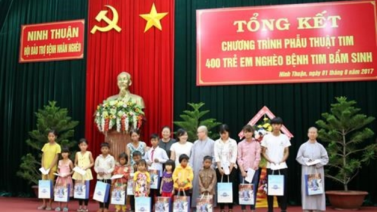 Ninh Thuan: charity programme saves 400 children with heart diseases