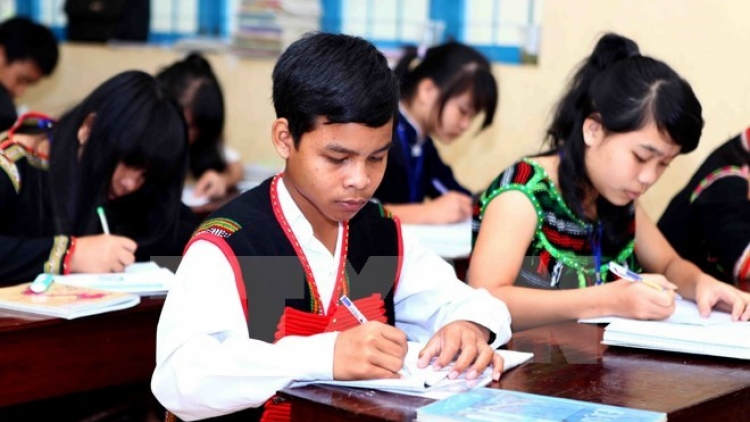 Central Highlands pays heed to education in remote, ethnic areas