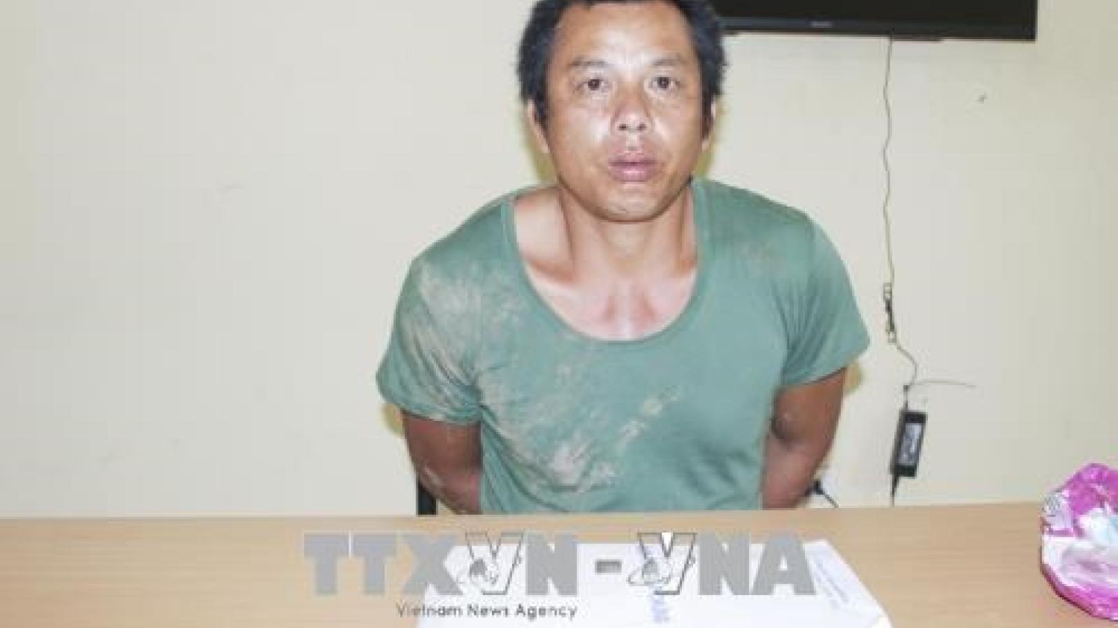 Dien Bien police seize 1kg of heroin from drug dealer