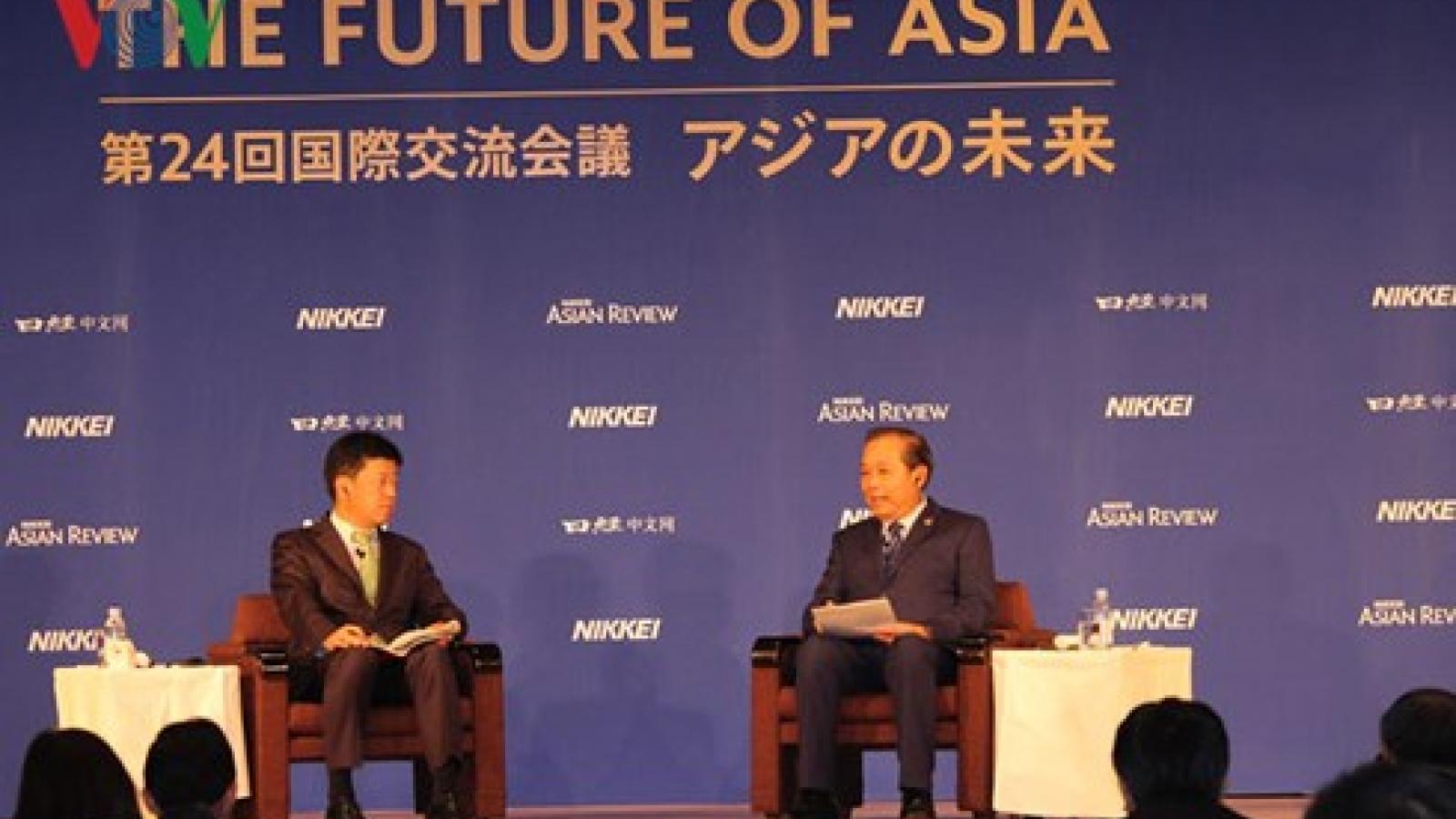 Deputy PM hails Asia's tremendous achievements