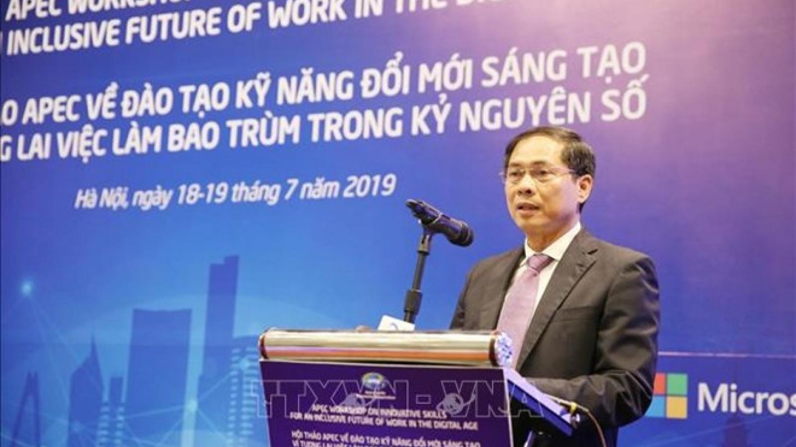 APEC workshop promotes innovative work skills in digital age