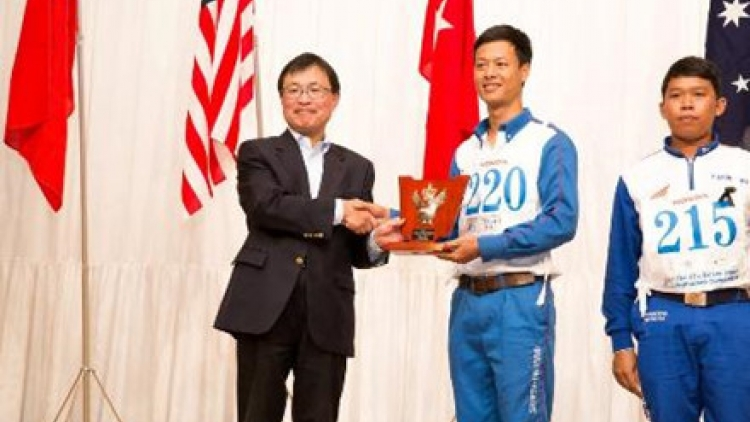 Honda Vietnam wins at 17th Safe Driving Contest in Japan