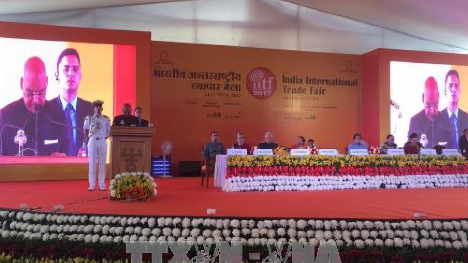 Vietnam attends India international trade fair