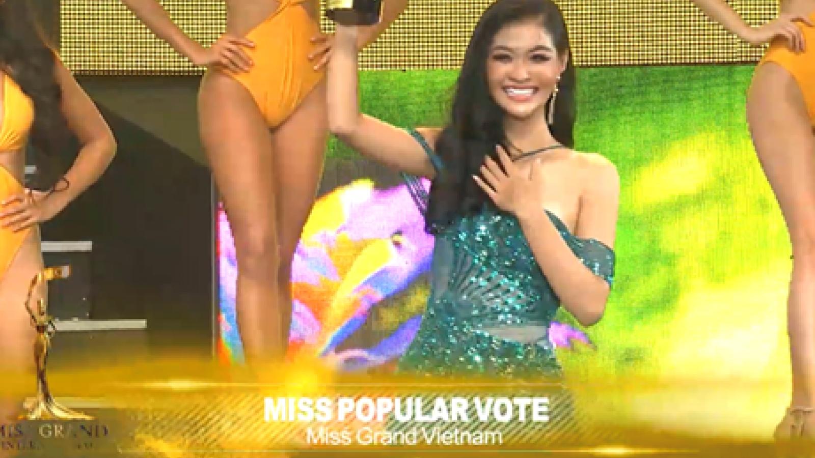 Kieu Loan among Top 10 finishers at Miss Grand International 2019