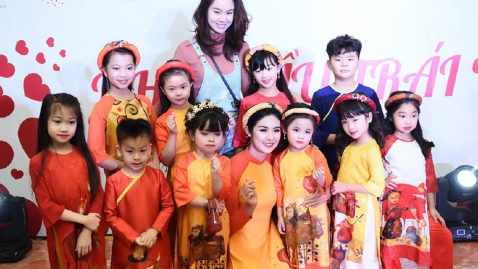 Ngo Phuong Lan launches child education fundraiser