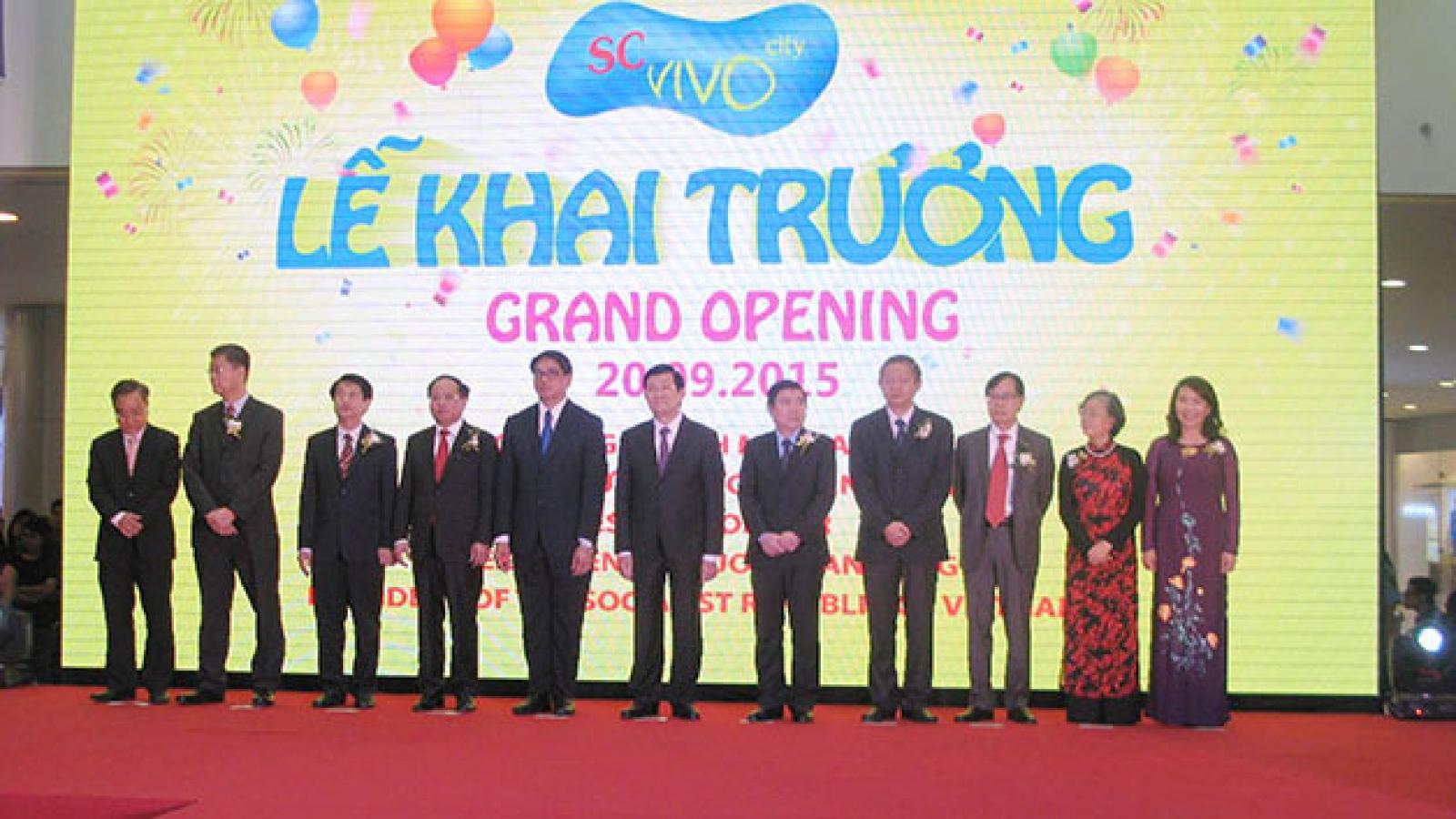 SC VivoCity officially opens doors