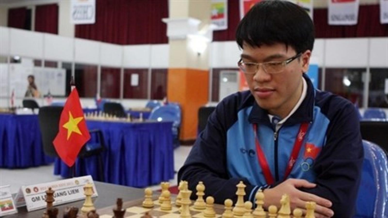 Liem ranks 2nd at Asian chess championship