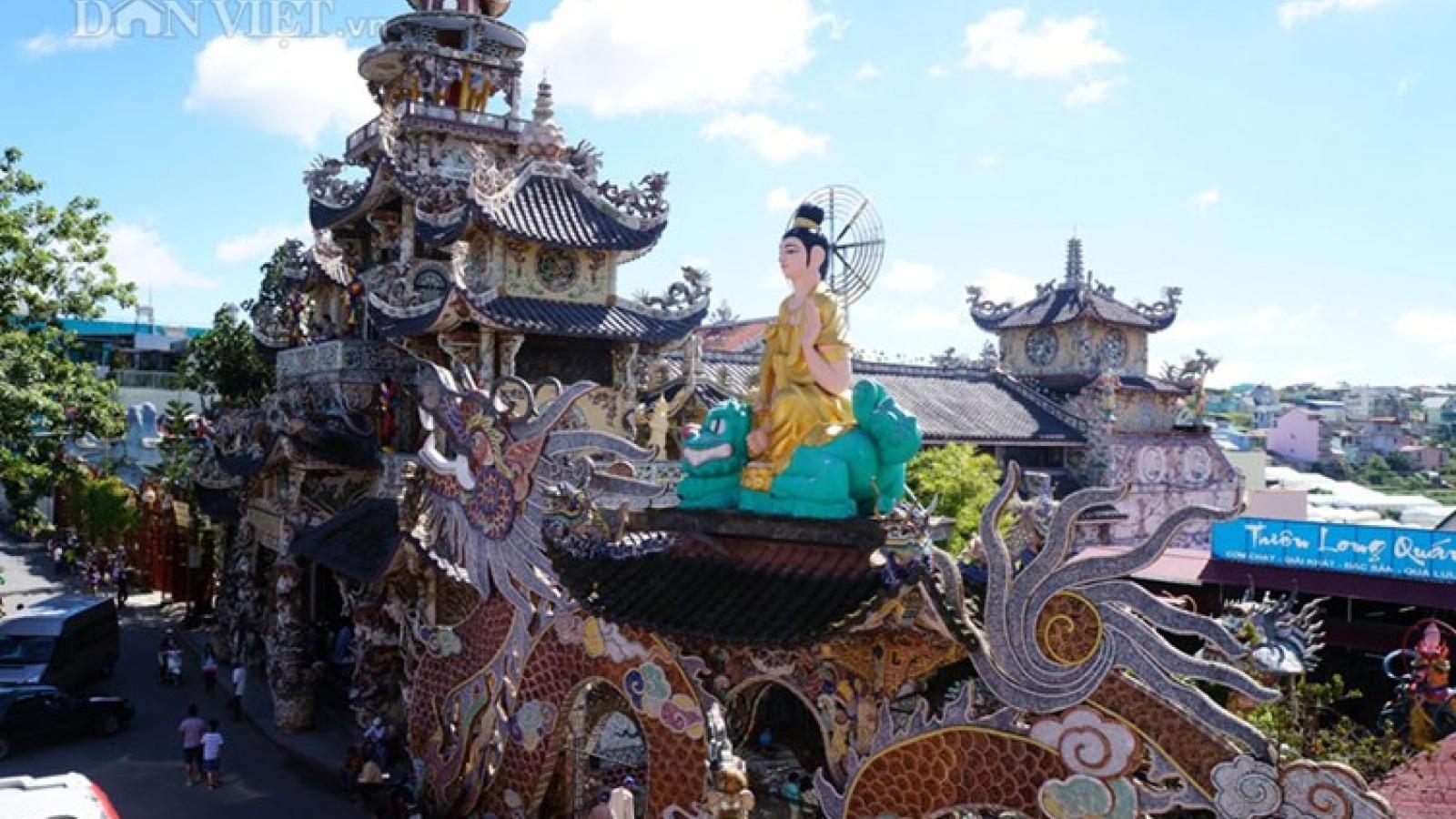 Linh Phuoc Pagoda-most unique architecture in Vietnam
