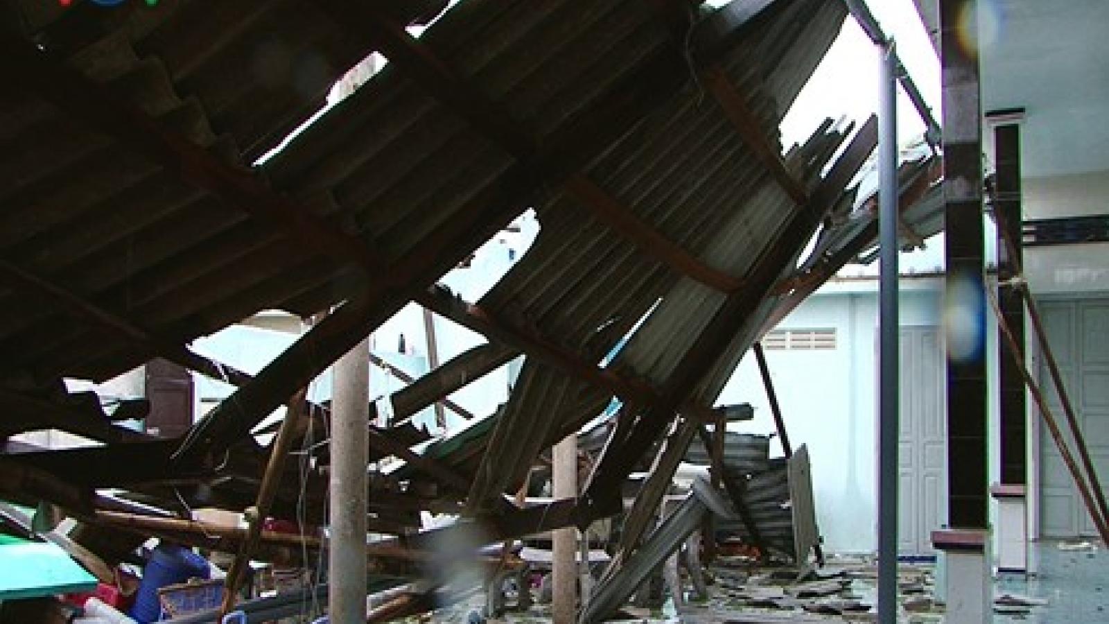 Tornado causes severe damage on Phu Quy Island