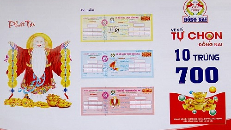 Local lottery firm unveils write-in ticket amid competition from Vietlott