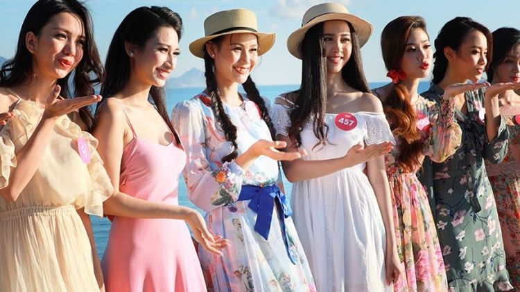 Miss Vietnam southern contestants dazzle in maxi dresses
