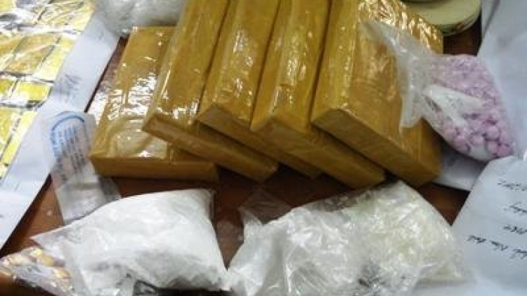 Nam Dinh police bust major transnational drug ring