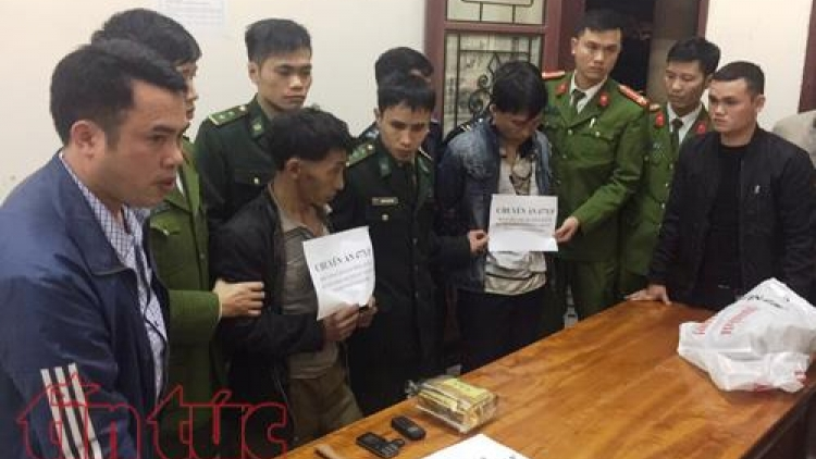 2 Lao drug traffickers caught by Ha Tinh police