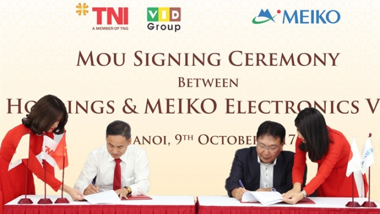 Japanese Meiko Electronics Group signs for third plant in Vietnam