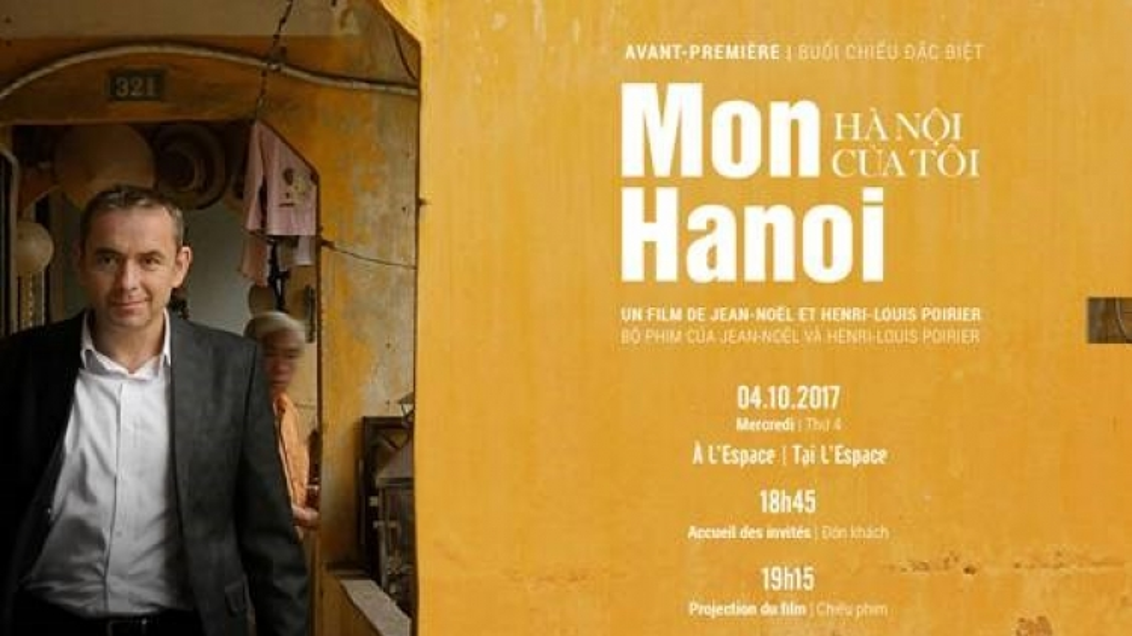Hanoi documentary by ex-French Ambassador to be screened